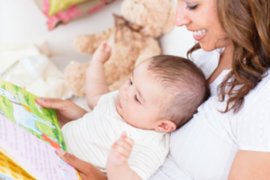 mother-reading-to-baby